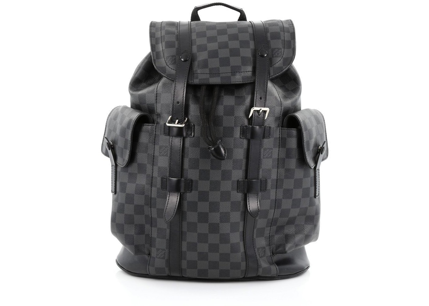 479aabca6b4 Louis Vuitton Christopher Damier Graphite PM Black
