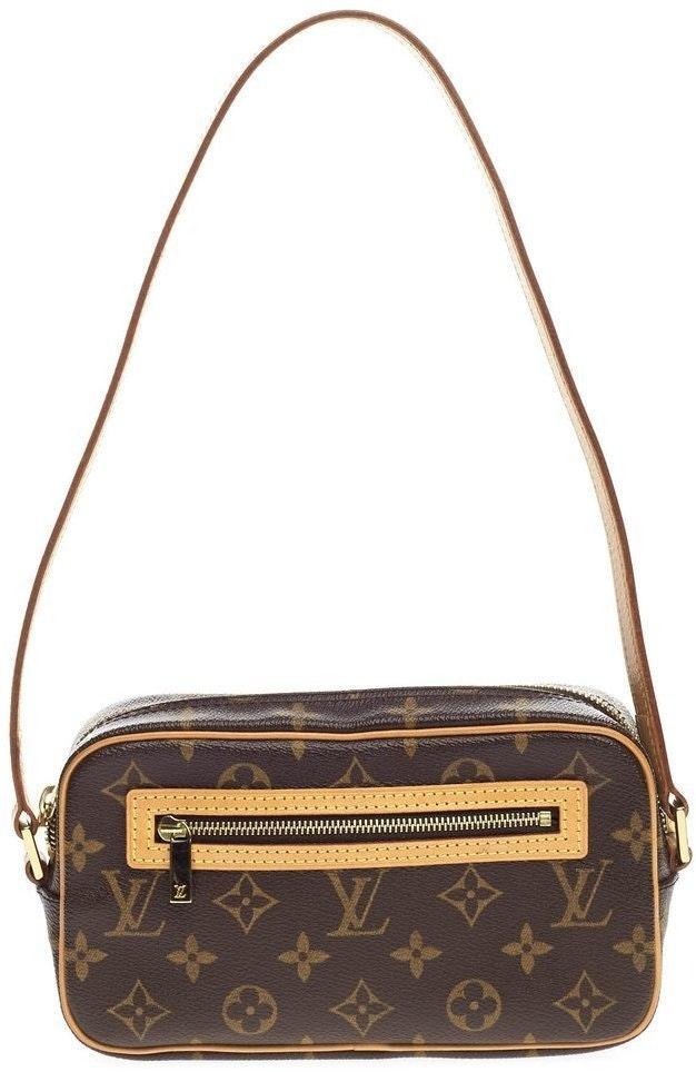 Louis Vuitton Cite Pochette Monogram Brown