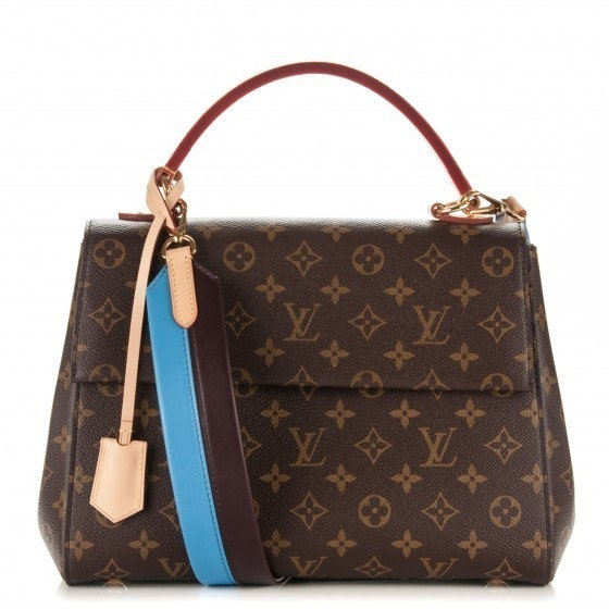 Louis Vuitton Cluny Top Handle Epi MM Brown