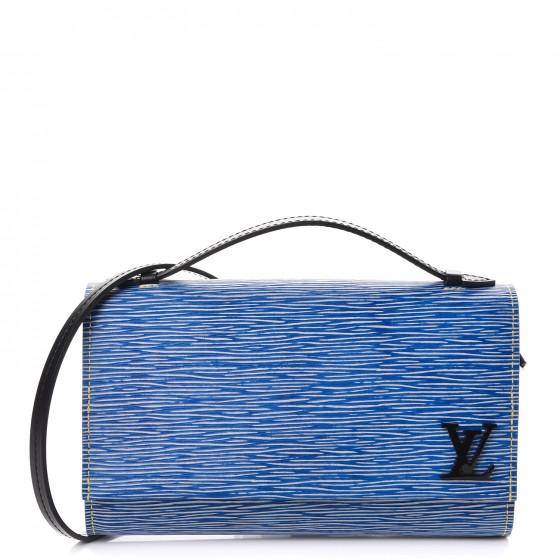 Louis Vuitton Clutch Clery Epi Denim