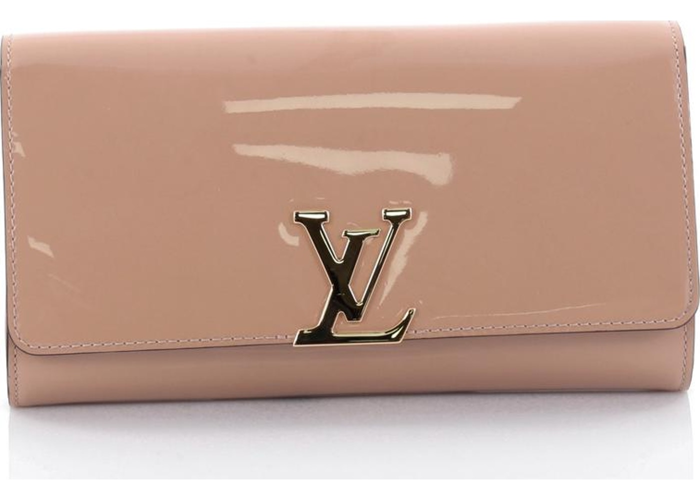 4c9dafea6d14 Louis Vuitton Clutch Louise East West Nude. Nude
