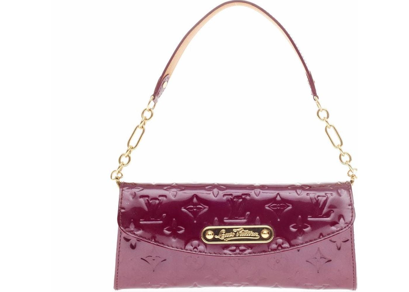 ece2dfcb4346 Louis Vuitton Clutch Sunset Boulevard Monogram Vernis Violette. Monogram  Vernis Violette