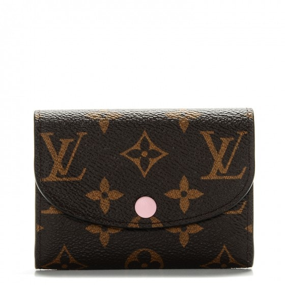 Louis Vuitton Coin Purse Rosalie Monogram Brown/Rose Ballerine