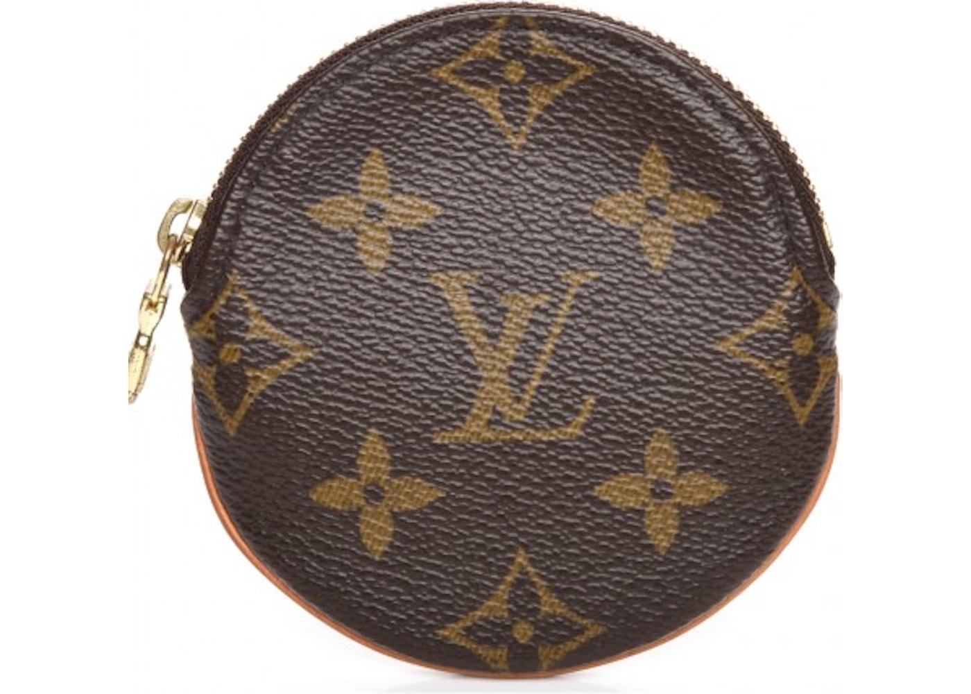 9f4204f4b47a Louis Vuitton Coin Purse Round Monogram Brown. Monogram Brown