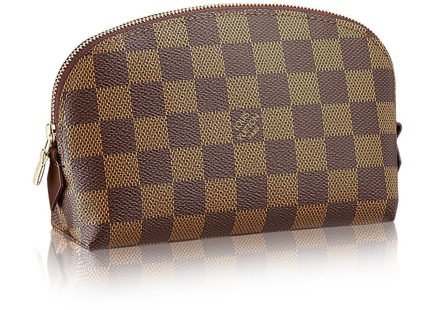 Louis Vuitton Cosmetic Pouch Damier Ebene Brown by Stock X