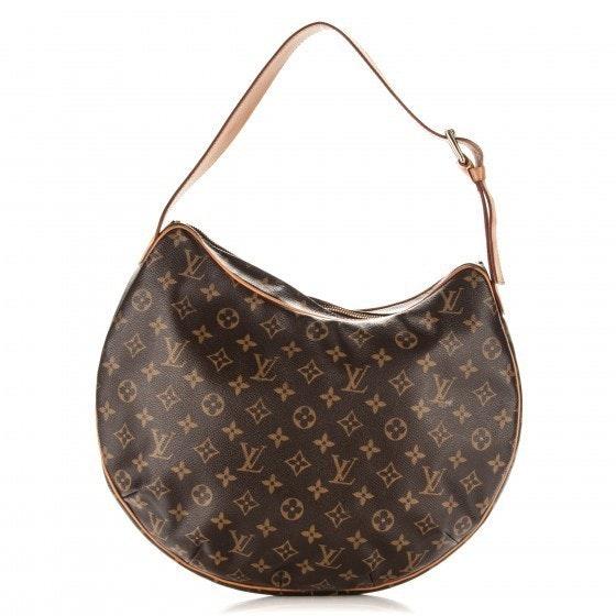Louis Vuitton Croissant Monogram GM Brown