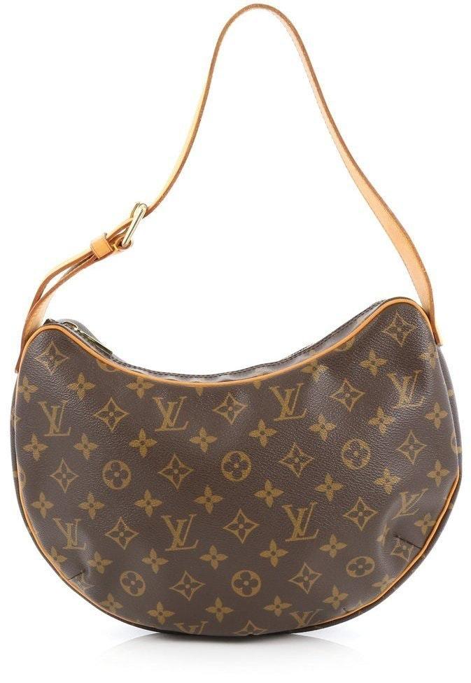 Louis Vuitton Croissant Monogram MM Brown
