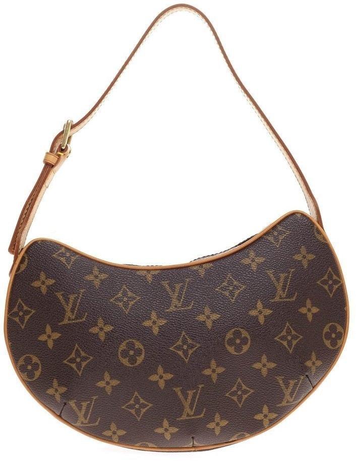 Louis Vuitton Croissant Monogram PM Brown