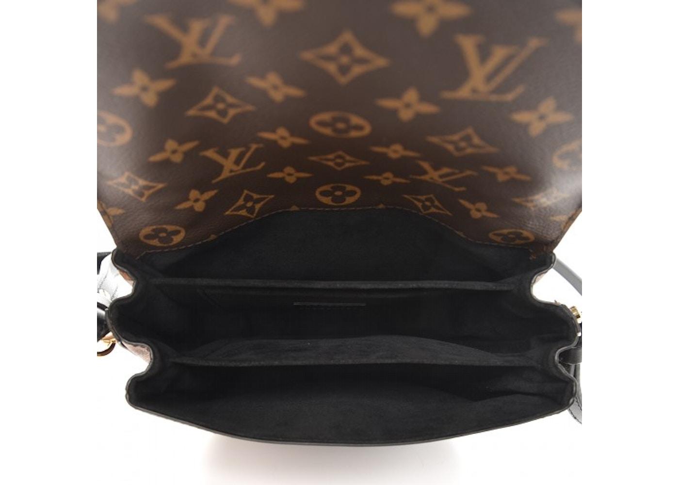 e35f7fa76f99 Louis Vuitton Crossbody Chantilly Lock Monogram Reverse Noir Black