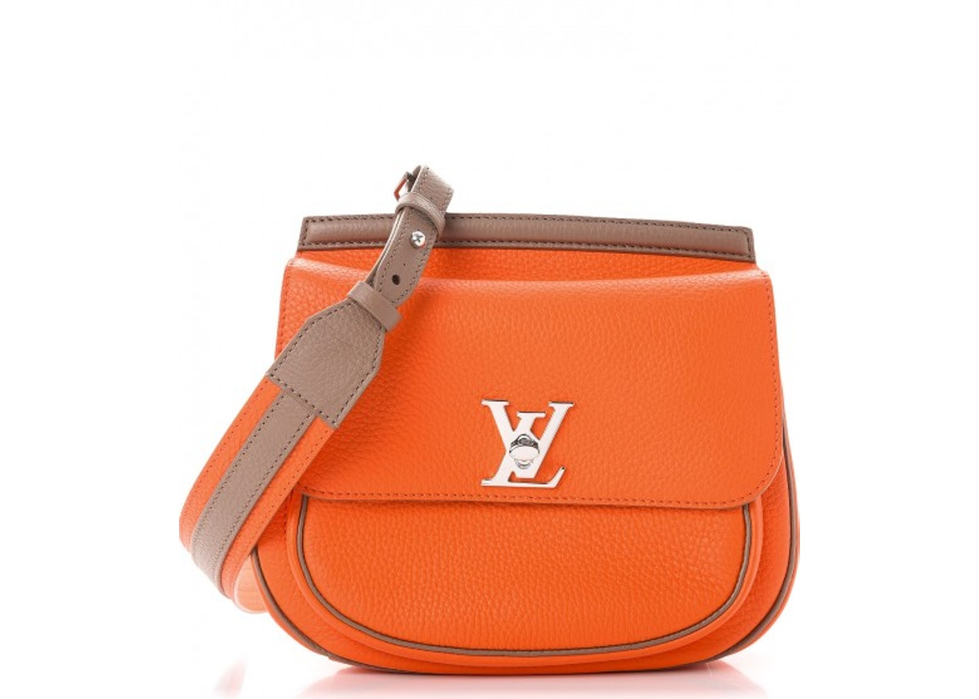 deacc2468a68 Louis Vuitton Crossbody Marceau Taurillon With Accessories Tangerine Taupe.  Taurillon With Accessories Tangerine Taupe