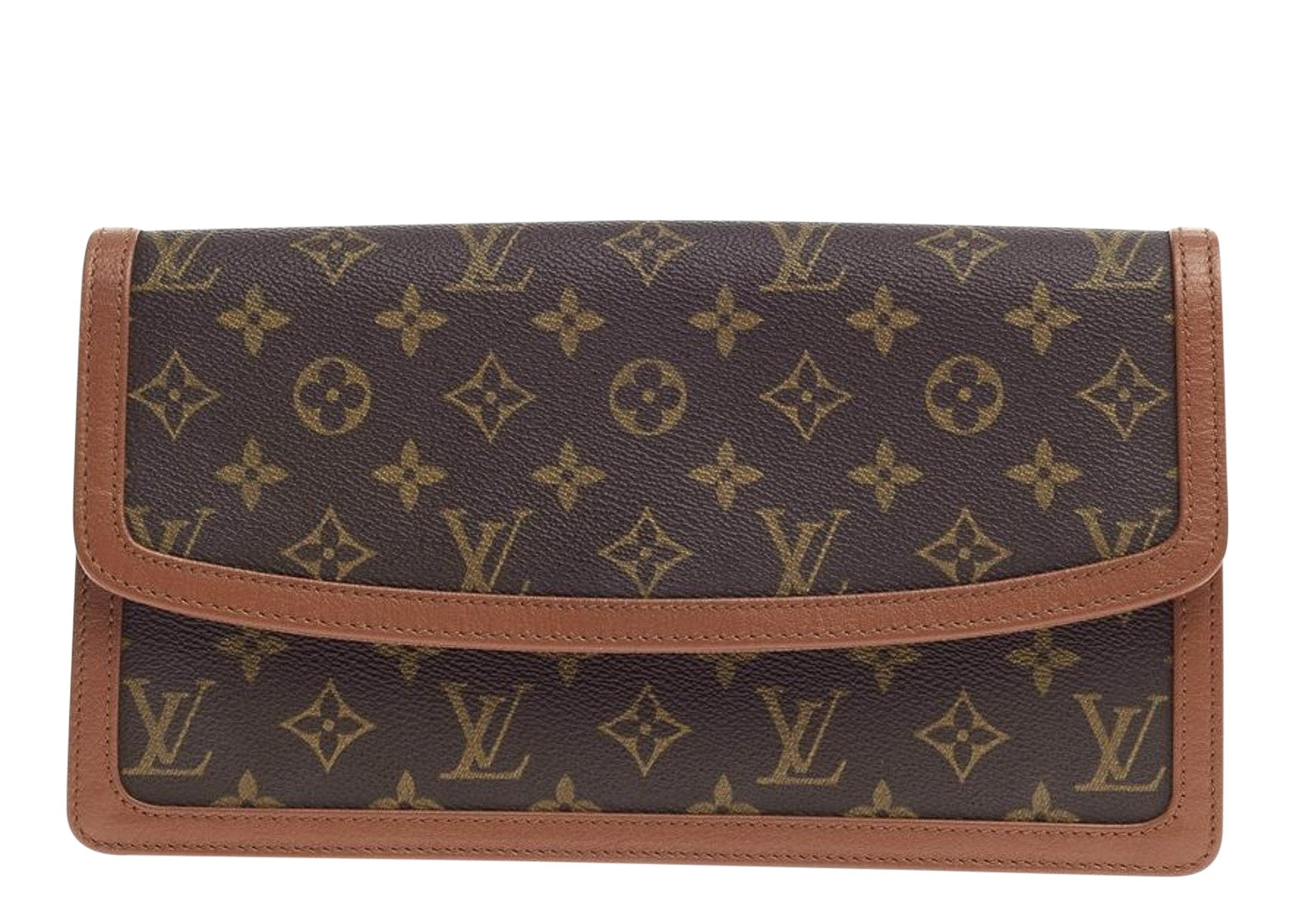 Louis Vuitton Dame Pochette Monogram GM Brown