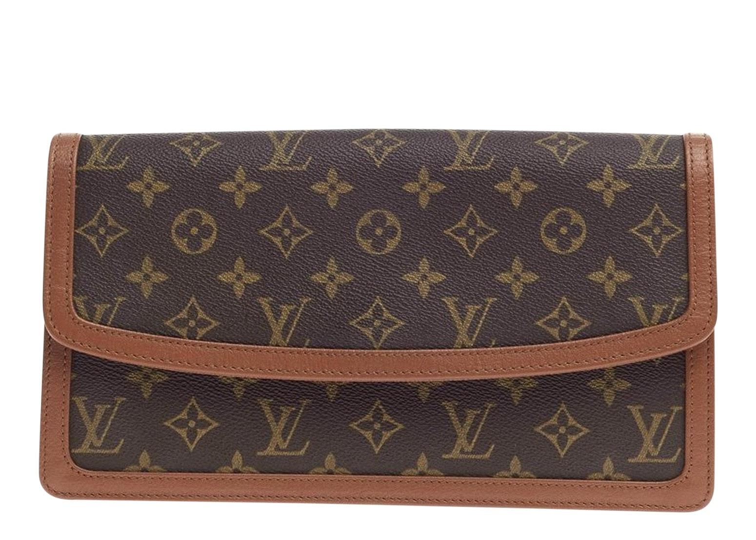 Louis Vuitton Dame Pochette Monogram GM Brown
