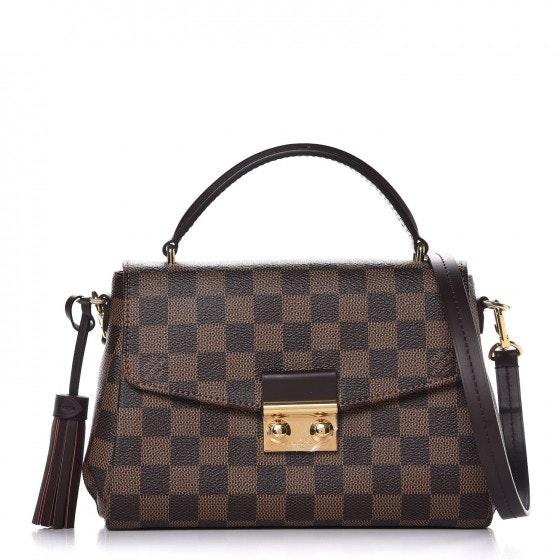 Louis Vuitton Croisette Damier  Ebene Brown