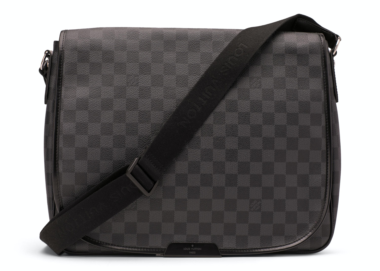 Louis Vuitton Daniel Damier Graphite GM Black