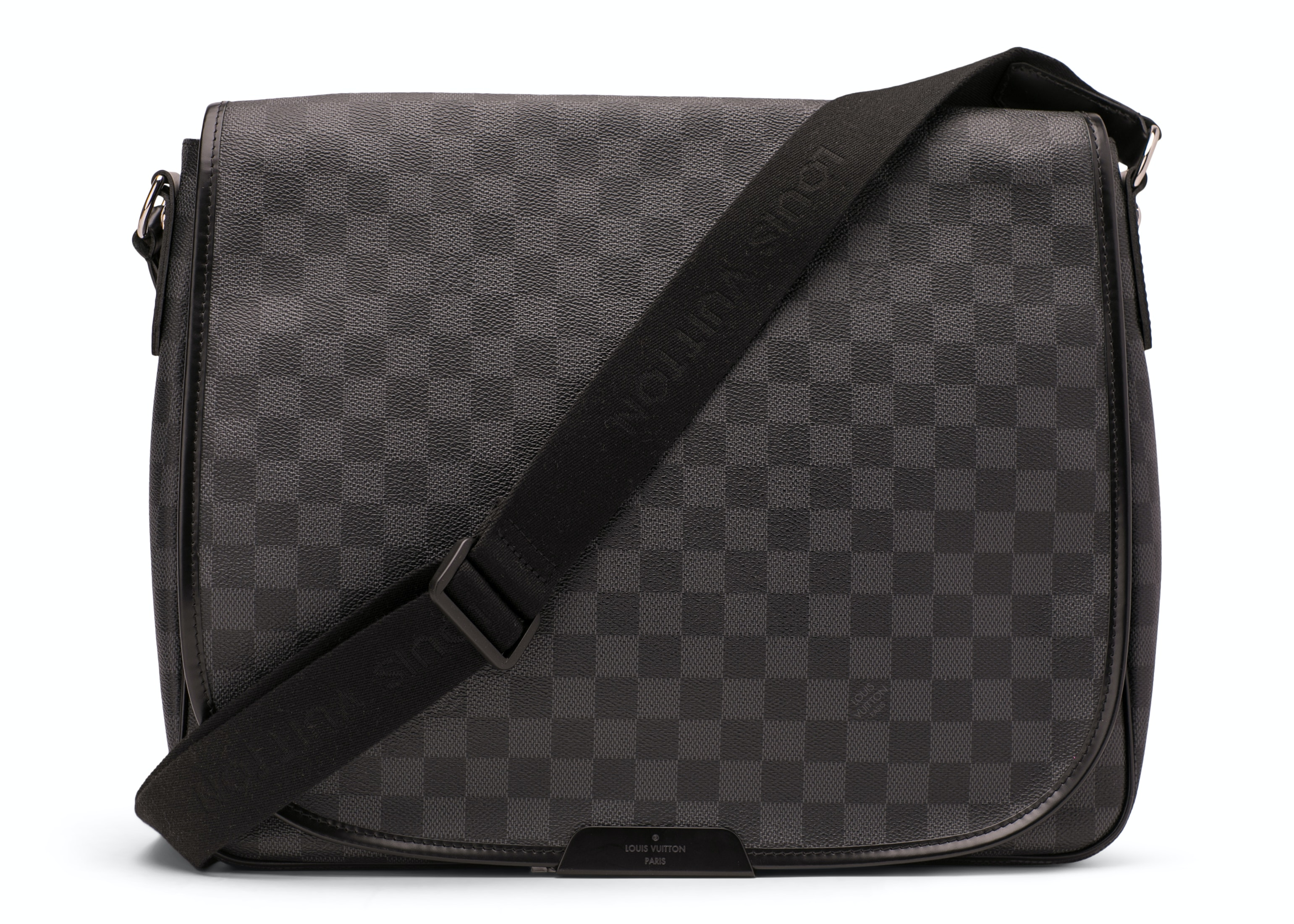Louis Vuitton Daniel Damier Graphite GM Black