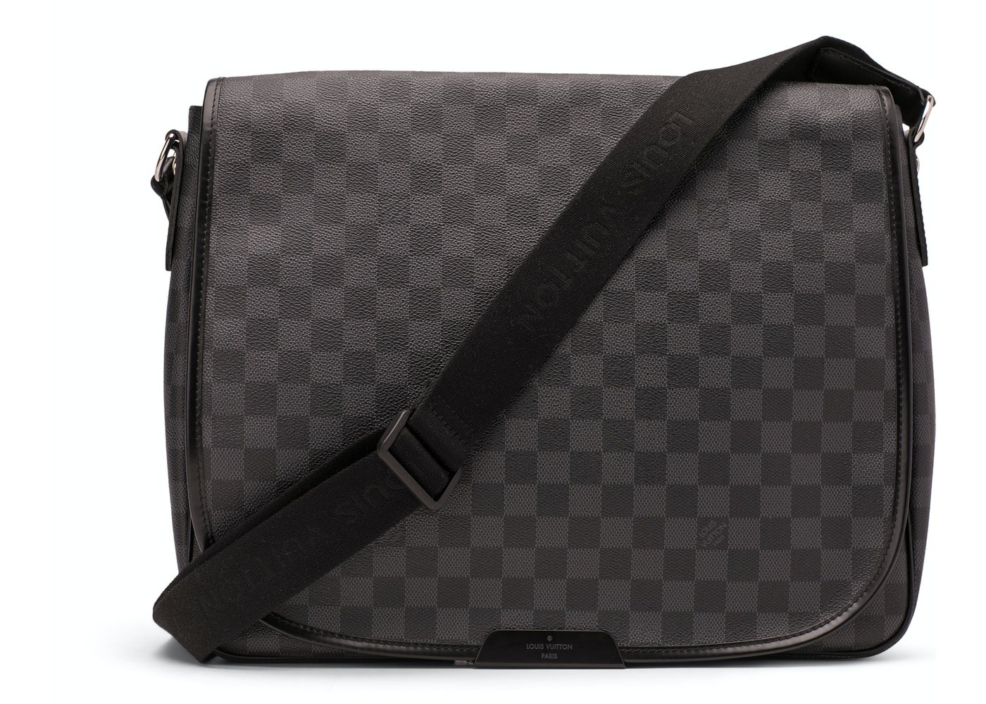 Louis Vuitton Daniel Damier Graphite GM Black 8852c289694ca