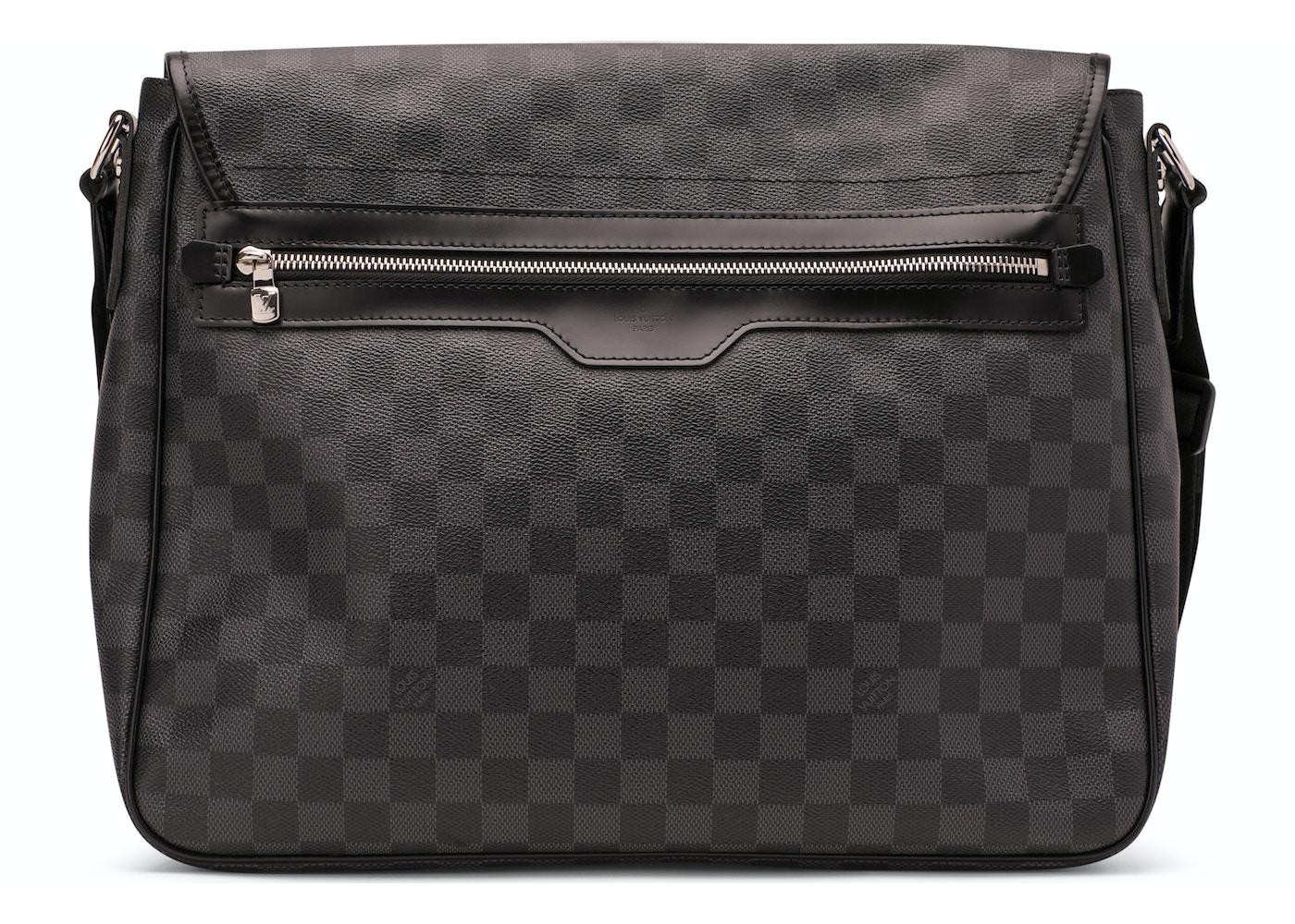 c0a349267159 Louis Vuitton Daniel Damier Graphite GM Black