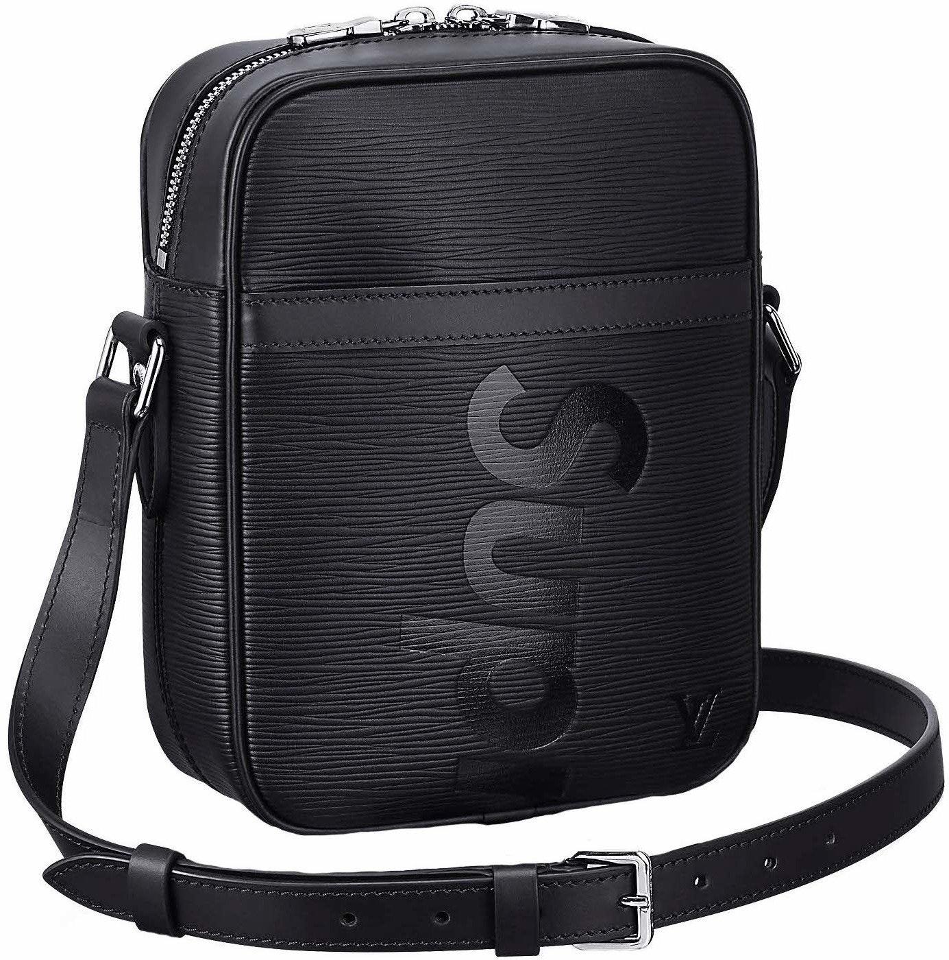 Louis Vuitton x Supreme Danube Epi PM Black