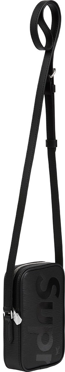 Louis Vuitton x Supreme Danube Epi PPM Black