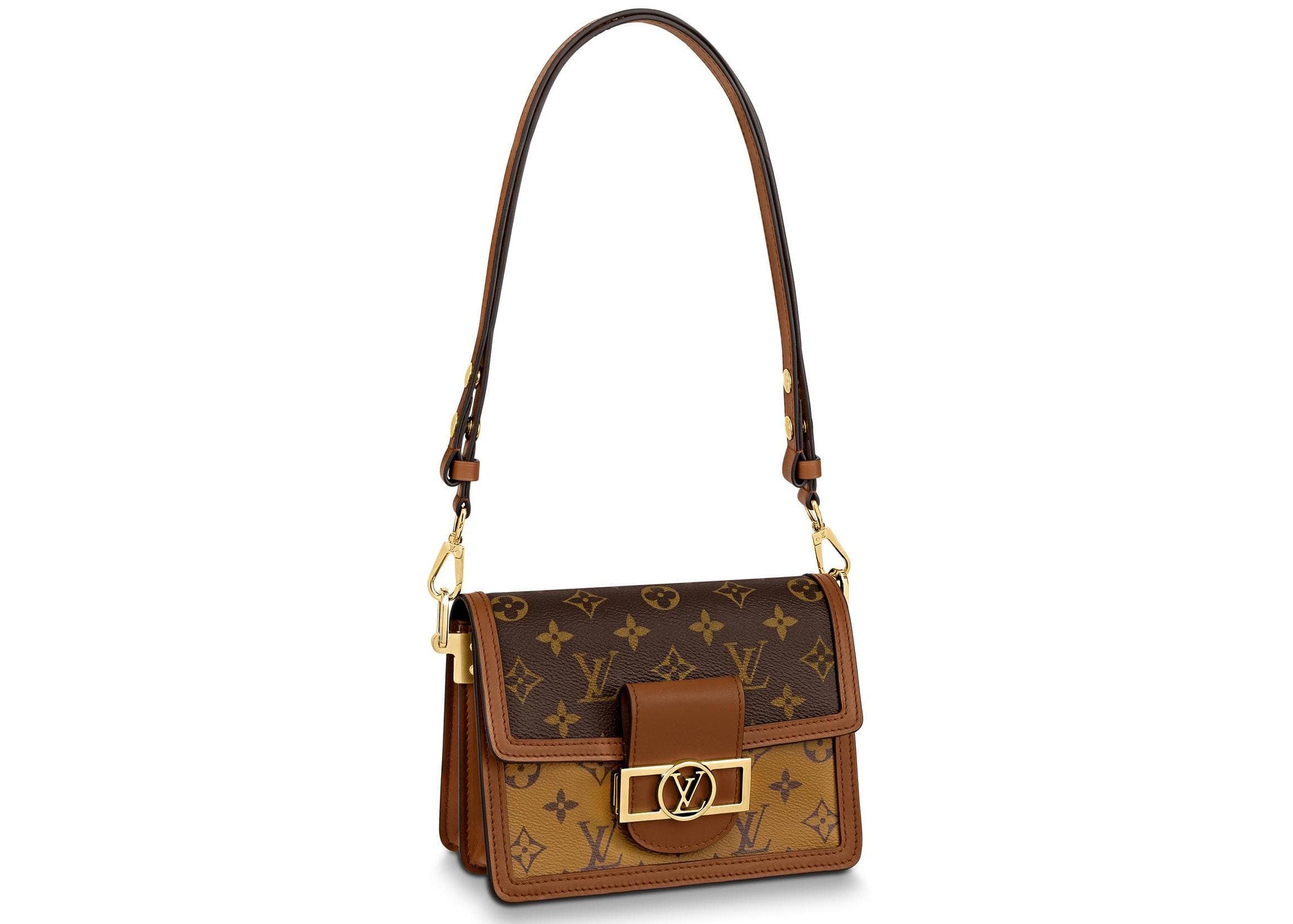 Louis Vuitton Dauphine Monogram Reverse Mini Brown