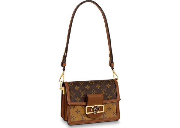 449b6ac99b46 Louis Vuitton Dauphine Monogram Reverse Mini Brown