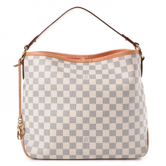 Louis Vuitton Delightful Damier Azur PM Pink