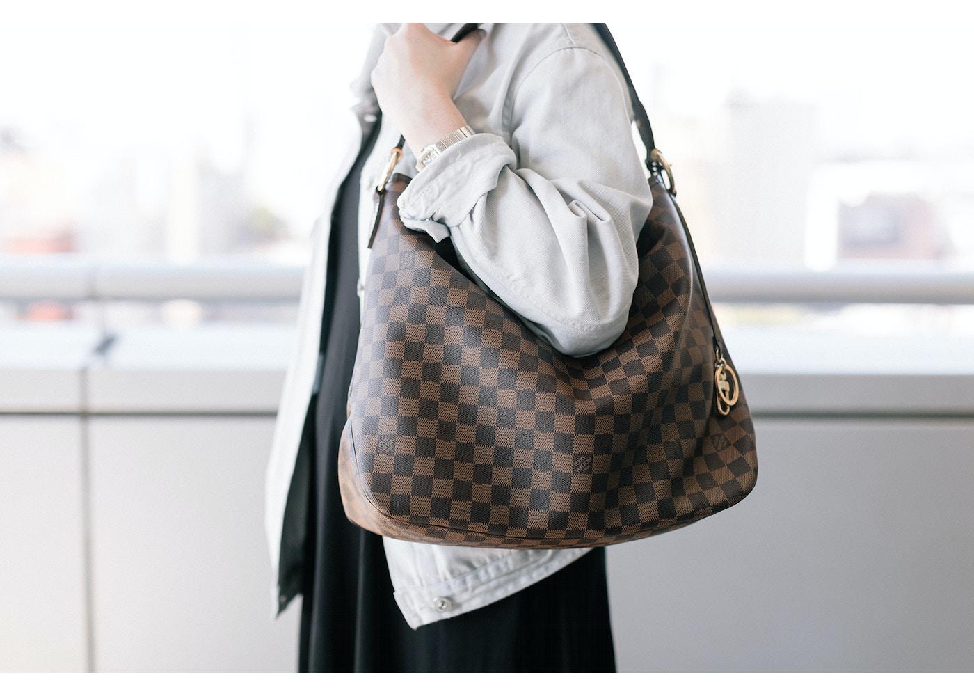 59fc5f24691d5 Louis Vuitton Delightful Nm Damier Ebene MM Brown