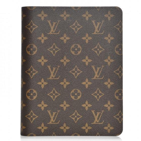 Louis Vuitton Desk Agenda Cover Monogram Brown