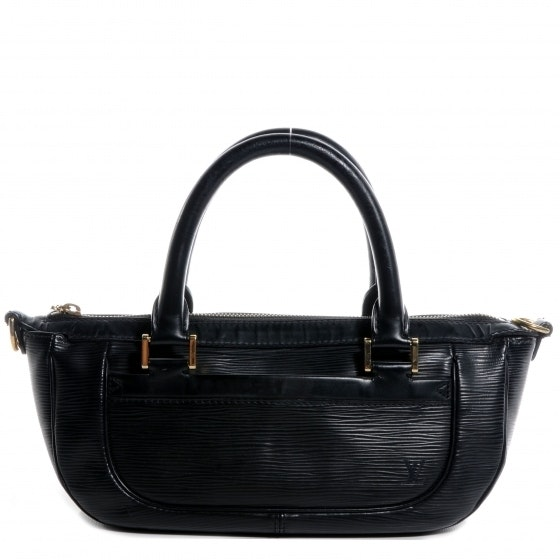 Louis Vuitton Dhanura Strapless Epi PM Black