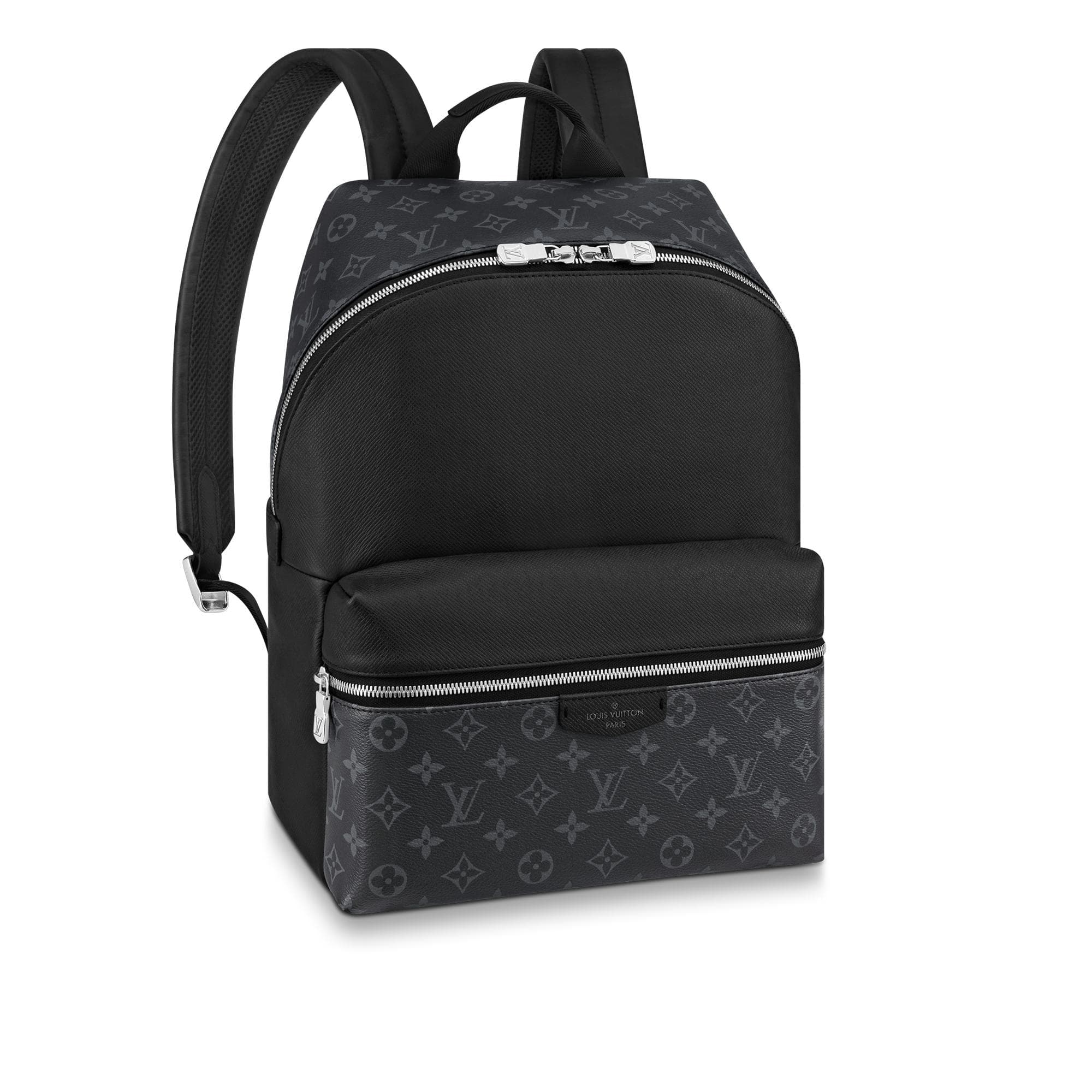 Louis Vuitton Discovery Backpack Monogram Eclipse Taiga PM Black