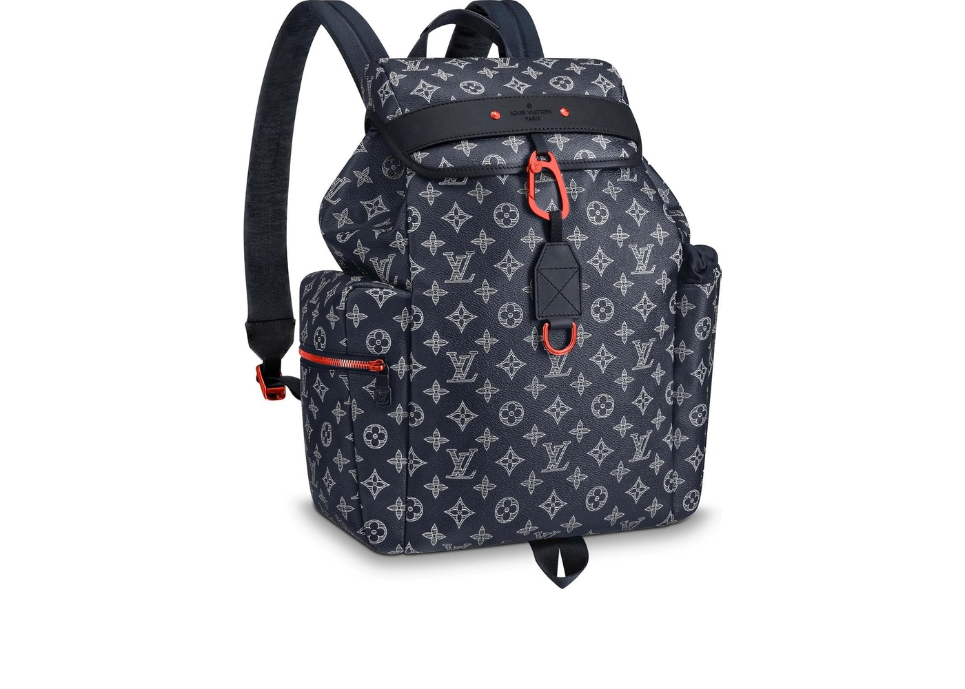 62fa6e525f58 Louis Vuitton Discovery Backpack Monogram Upside Down Ink Navy. Monogram Upside  Down Ink Navy
