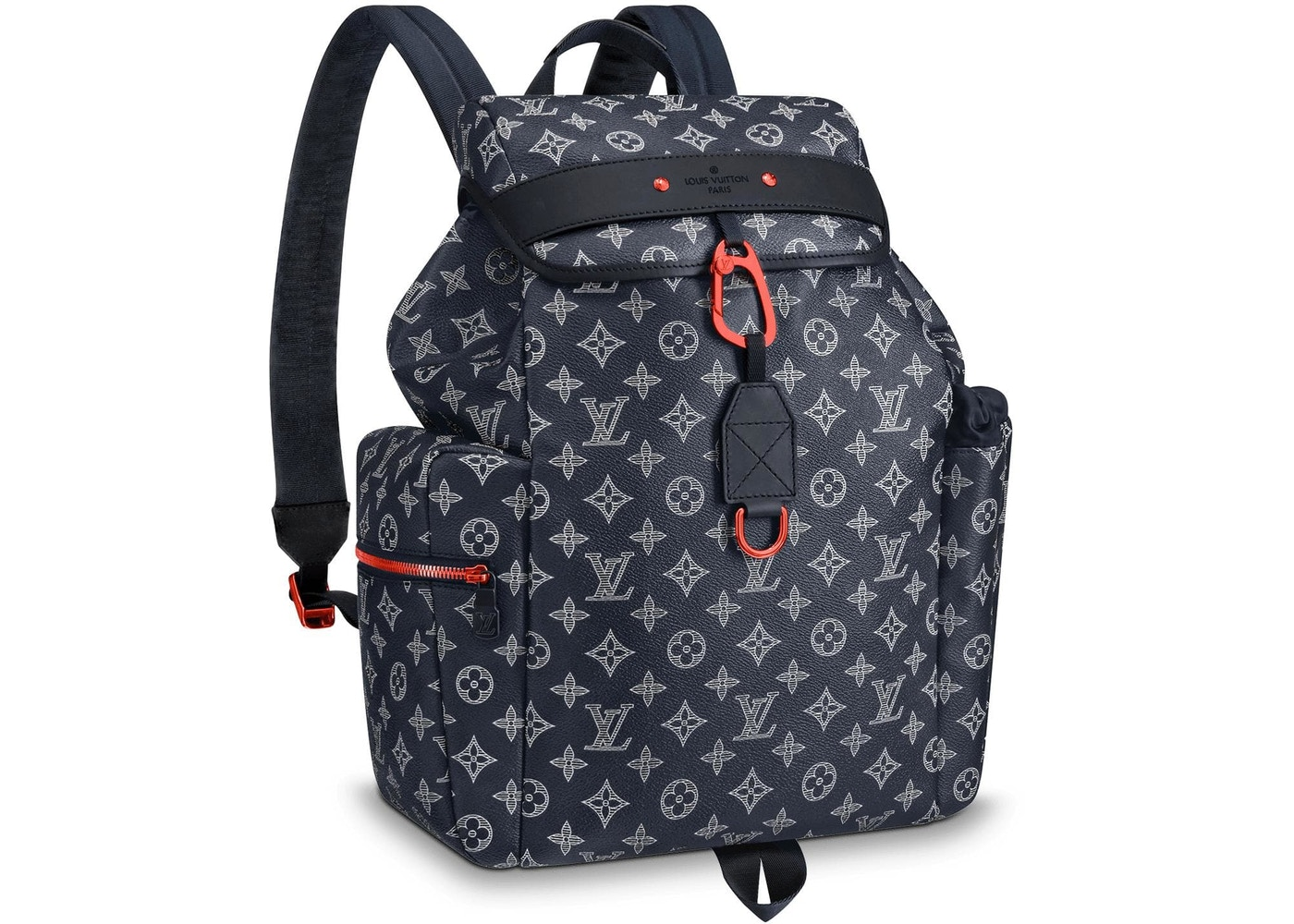 Louis Vuitton Discovery Backpack Monogram Upside Down Ink Navy