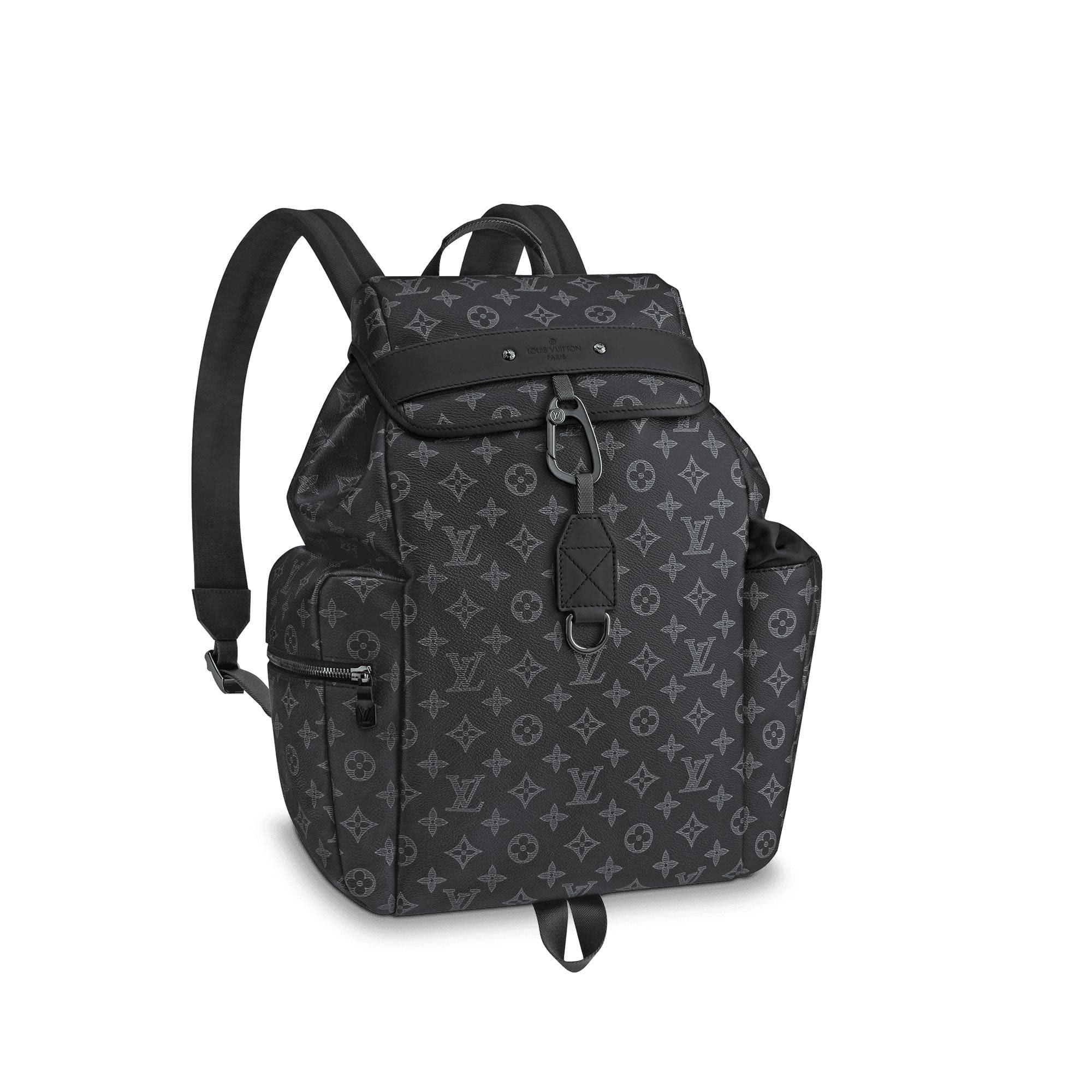 Louis Vuitton Discovery Backpack Monogram Vivienne Eclipse Black