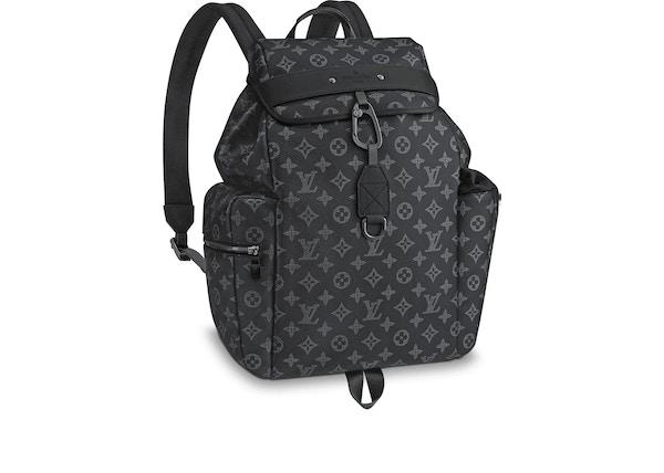 b3f2d305b755 Louis Vuitton Discovery Backpack Monogram Vivienne Eclipse Black