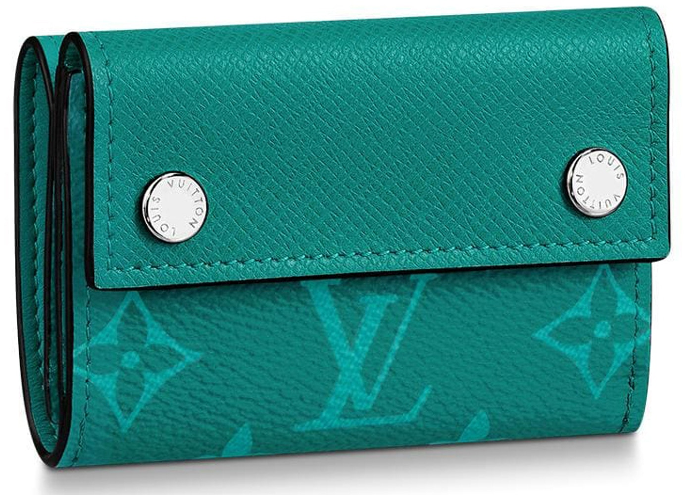 100% genuino ultimo design prezzi di sdoganamento Louis Vuitton Discovery Compact Wallet Monogram Amazon Taiga Pine ...