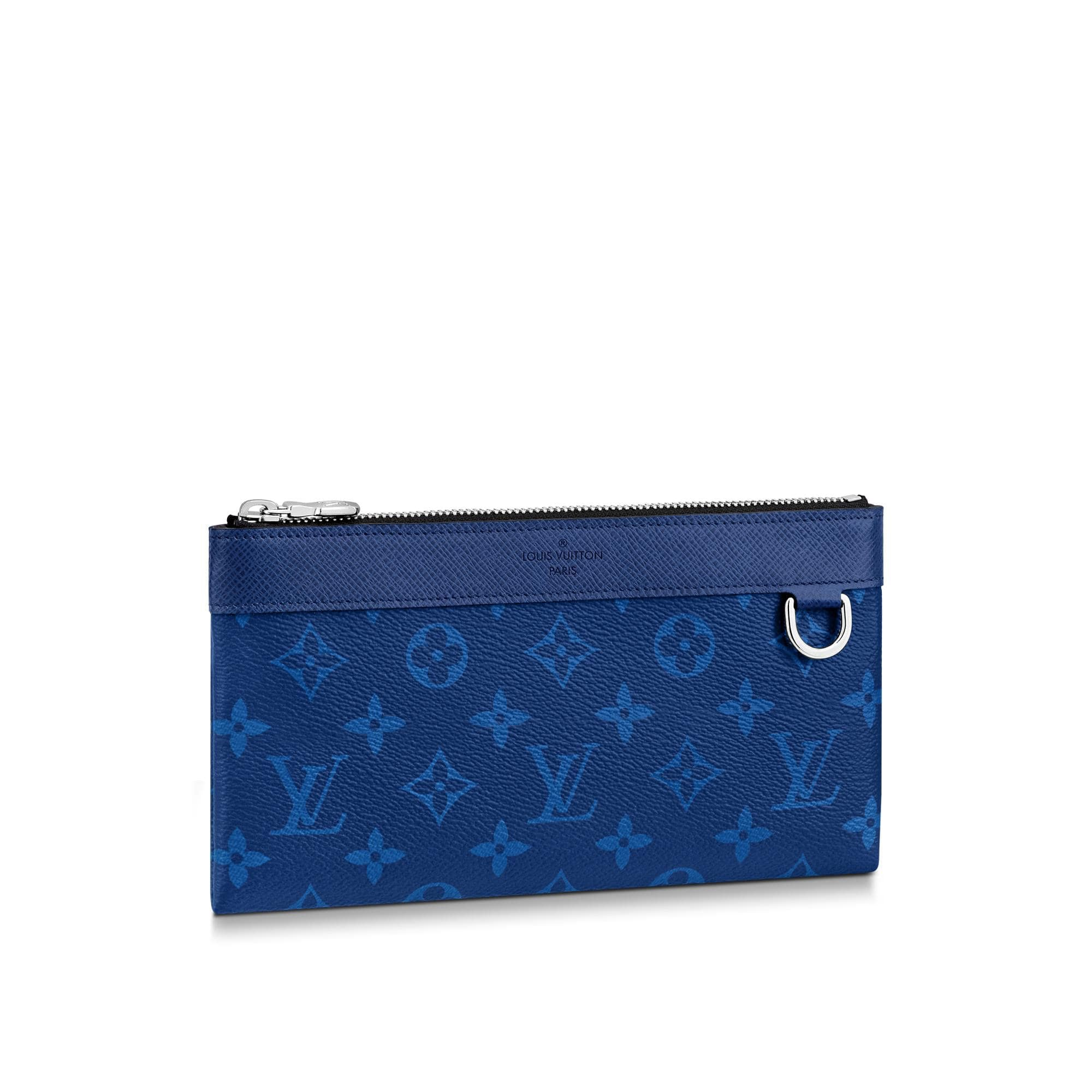 Louis Vuitton Discovery Pochette Monogram Pacific Taiga PM Blue