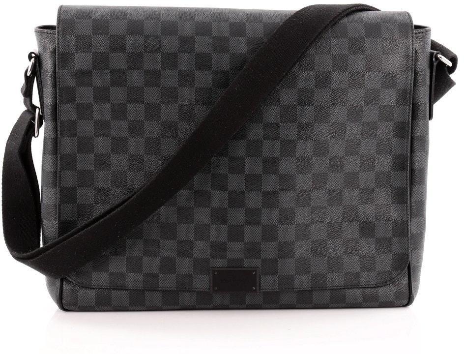 Louis Vuitton District Damier Graphite GM Black