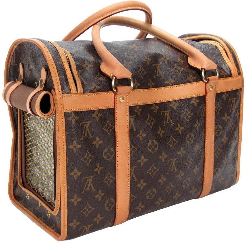 Louis Vuitton Dog Carrier Monogram 40 Brown