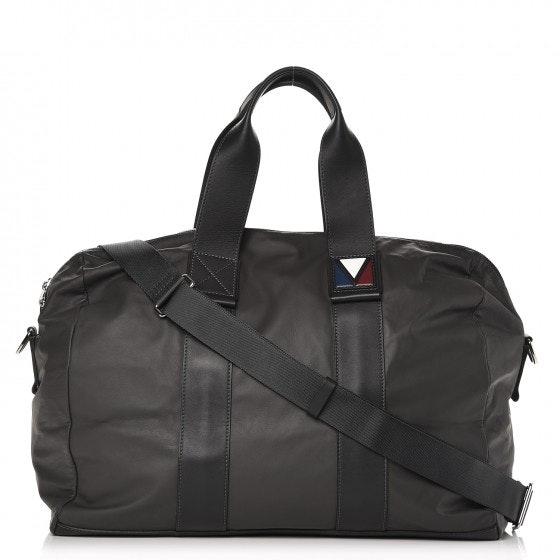 Louis Vuitton Duffel Gaston V Start MM Asphalt