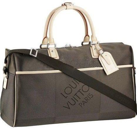 Louis Vuitton Duffle Damier Geant Beige