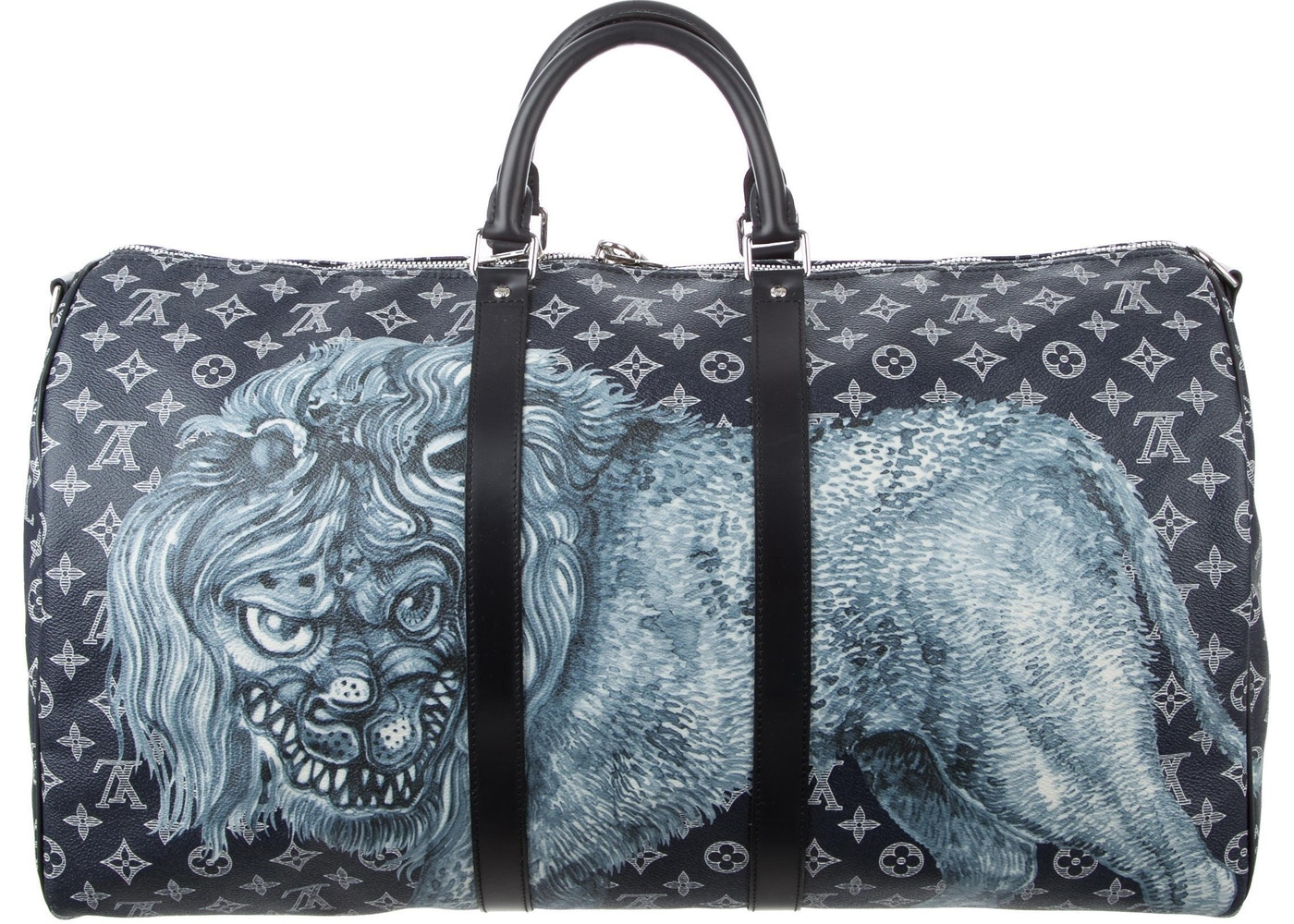 2587919dd3e9 Louis Vuitton Duffle Keepall Bandouliere Savane Monogram ...