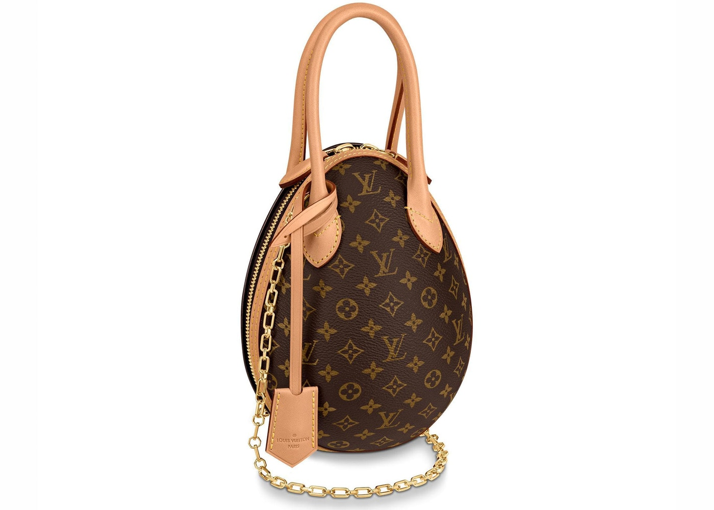 Louis Vuitton Egg Bag Monogram Brown