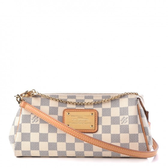 Louis Vuitton Eva Damier Azur Ivorie Grey