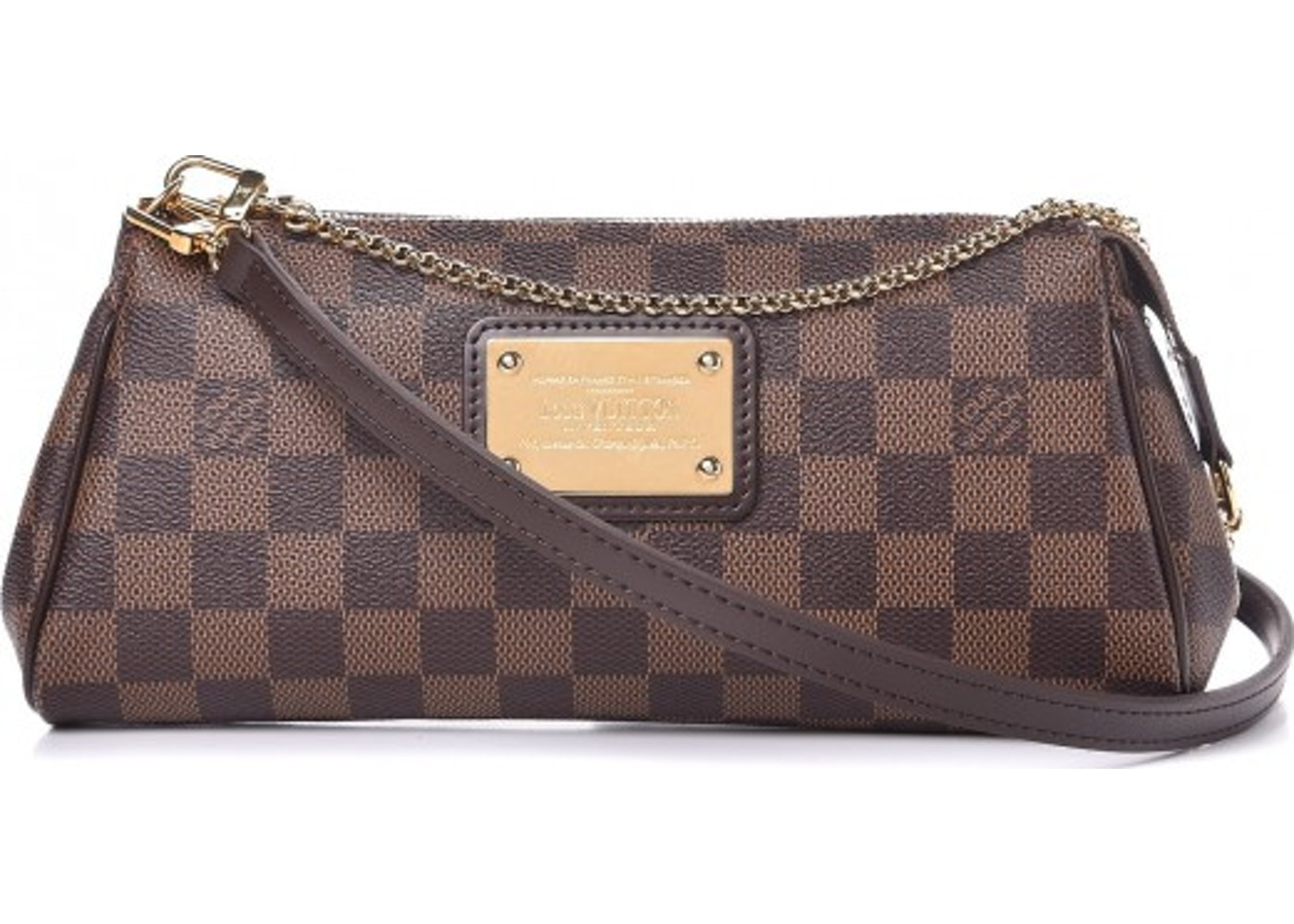 65a80aec92af Louis Vuitton Eva Damier Ebene Brown. Damier Ebene Brown
