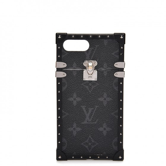 Louis Vuitton Eye Trunk Iphone 7 Plus Case Monogram Eclipse Black
