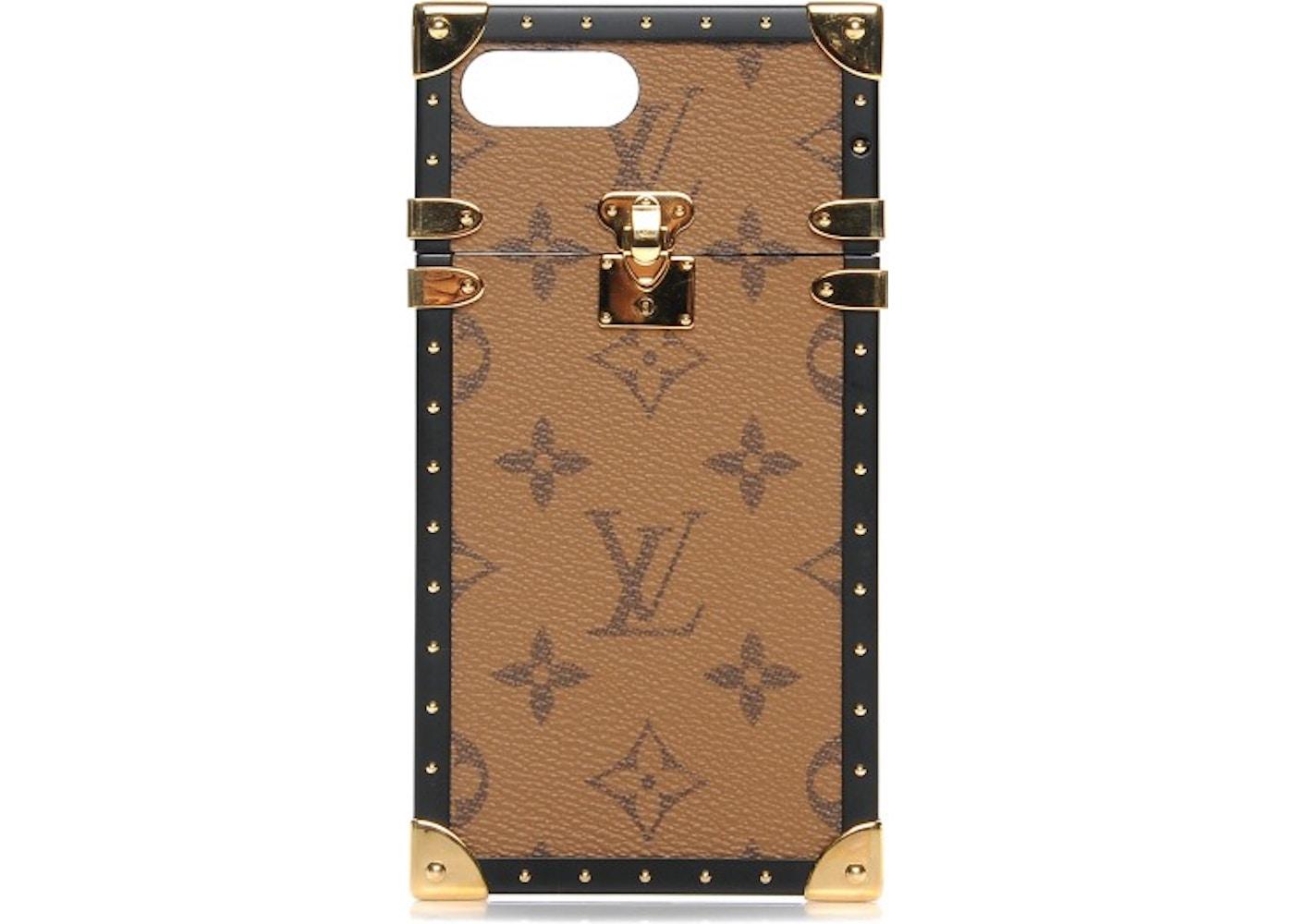 450f0765f9c5 Louis Vuitton Eye Trunk Iphone 7 Plus Case Monogram Reverse Brown. Monogram  Reverse Brown