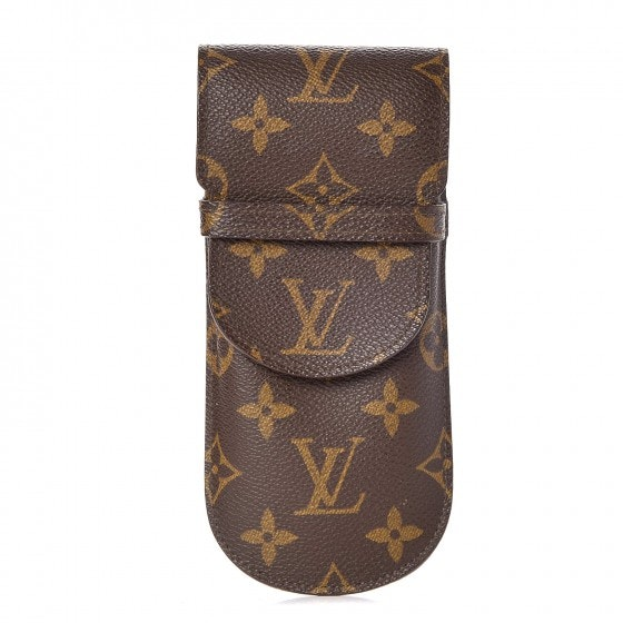 Louis Vuitton Eyeglass Case Etui a Lunettes Rabat Monogram Brown