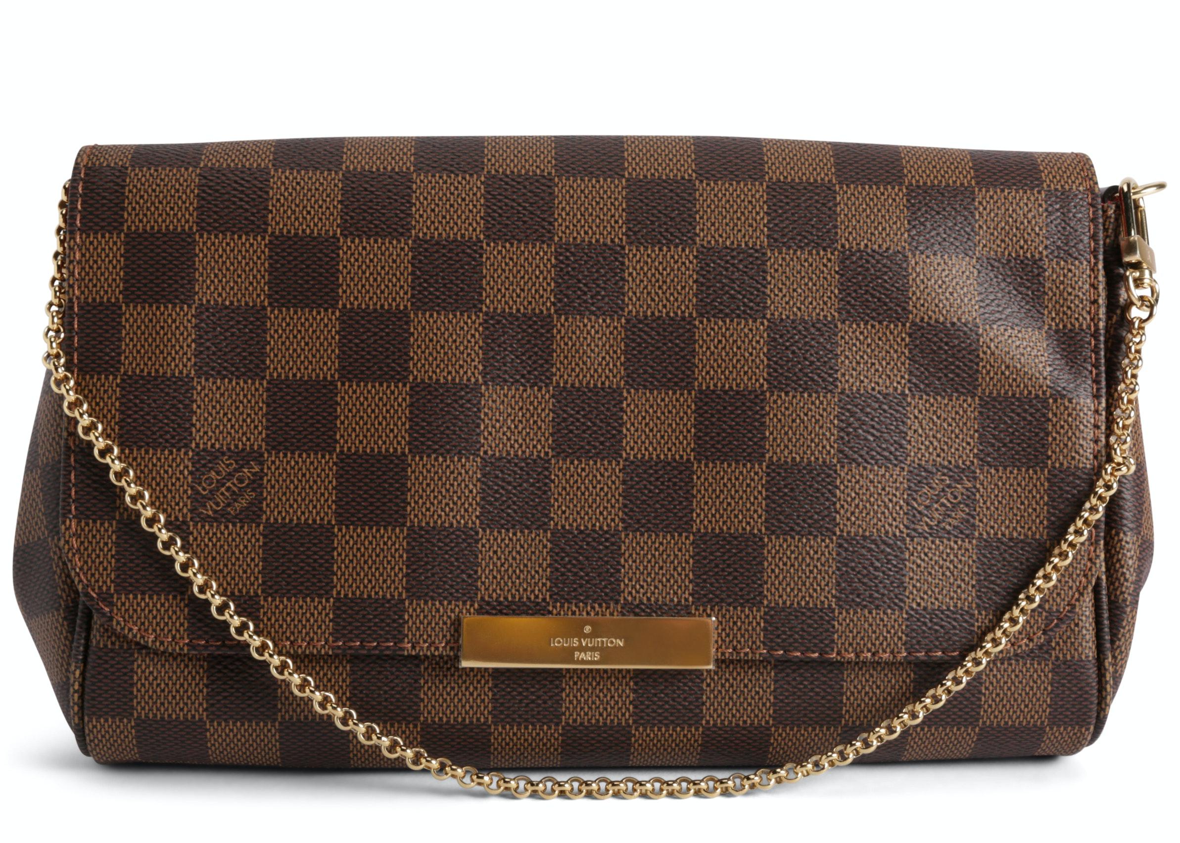 Louis Vuitton Favorite Damier Ebene MM Brown