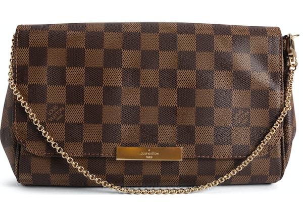 4d7c06dd5dd9 Louis Vuitton Favorite Damier Ebene MM Brown
