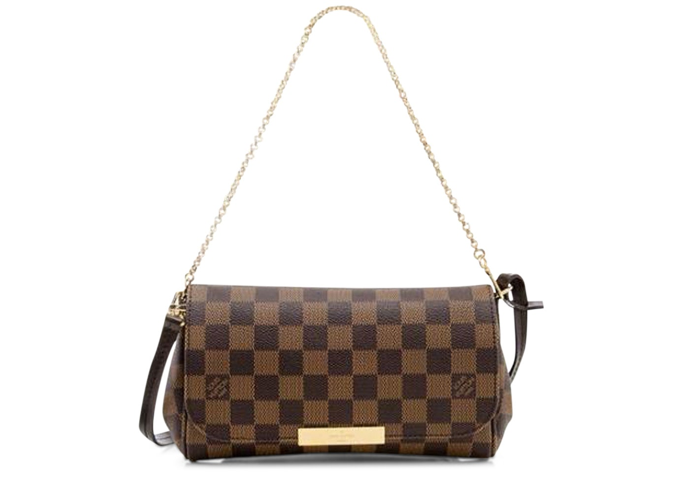 Louis Vuitton Favorite Damier Ebene PM Brown